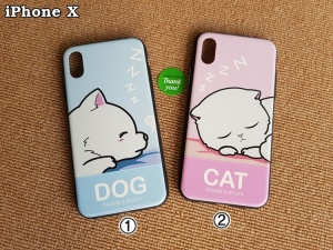 Ốp hinh Cute iPhone X